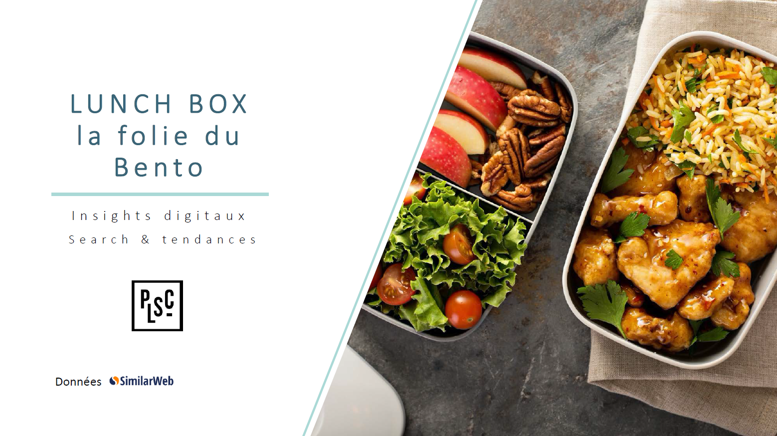 Lunch box marché