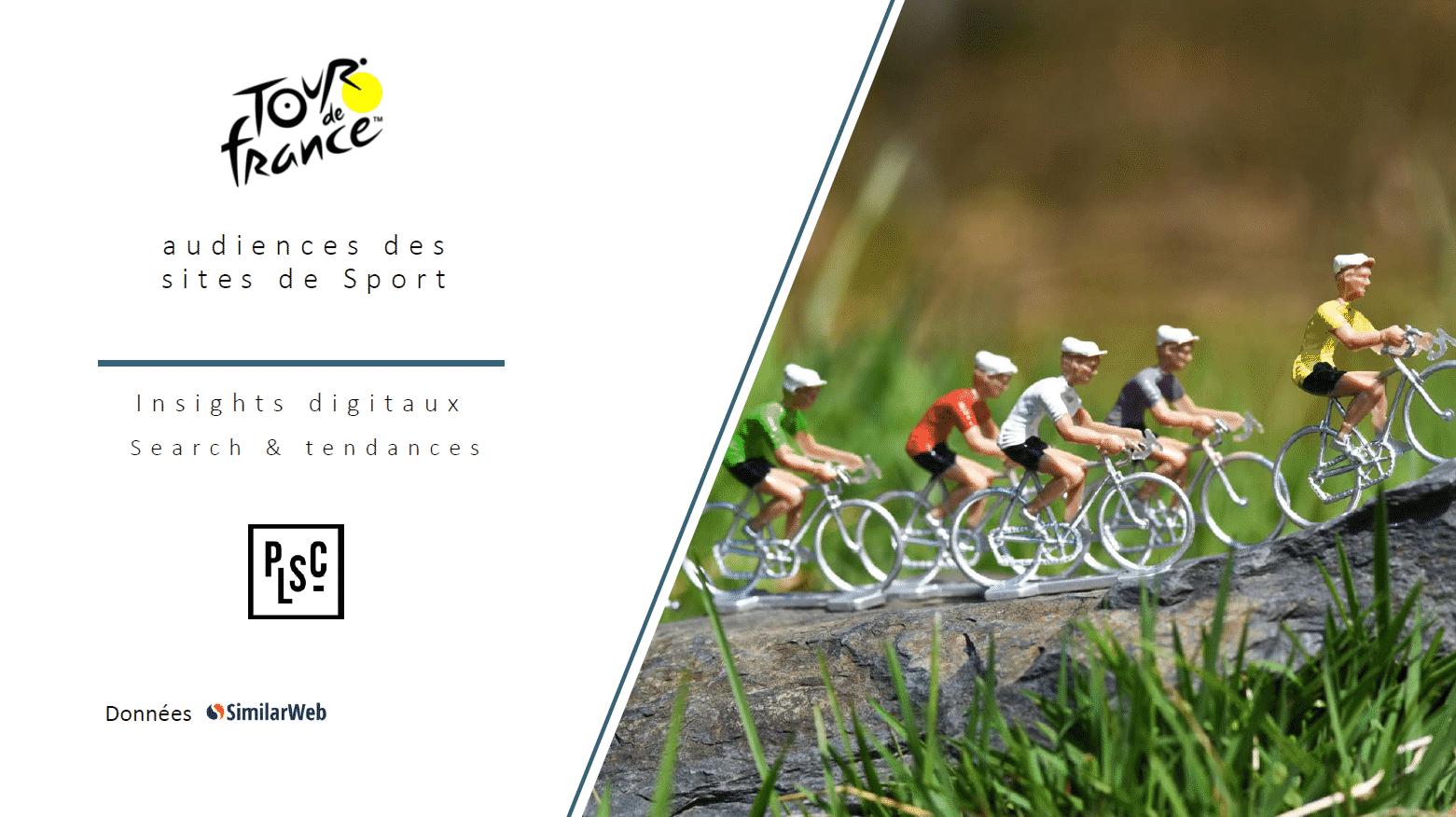 Audiences digitales Tour de France 2020